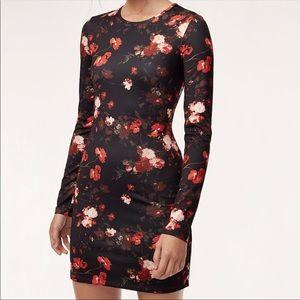 Aritzia Wilfred Fleure Floral Mini Dress